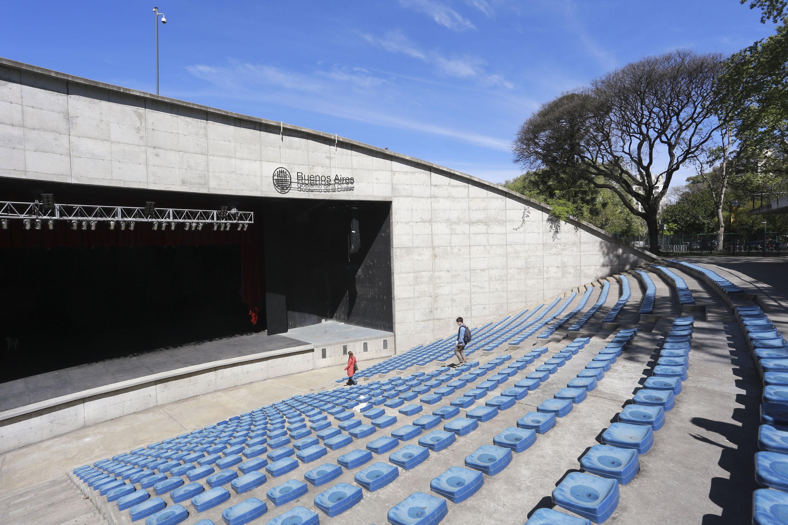 Parque Centenario. Fotos Andres Perez Moreno / prensa Ambiente y Espacio Publico