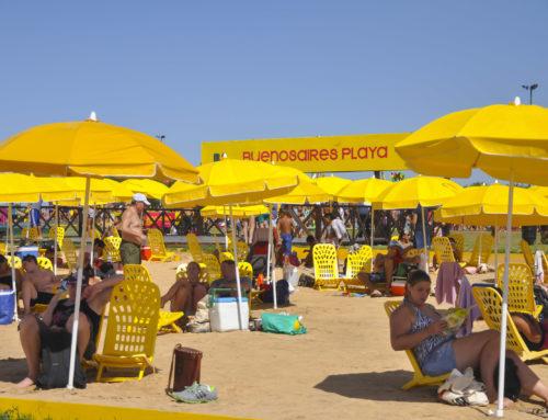 Vamos a la playa en Buenos Aires!